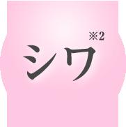 シワ(※2)